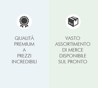 Qualità premium e casto assortimento