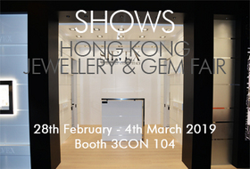 Hong Kong Jewellery & Gem Fair Marzo
